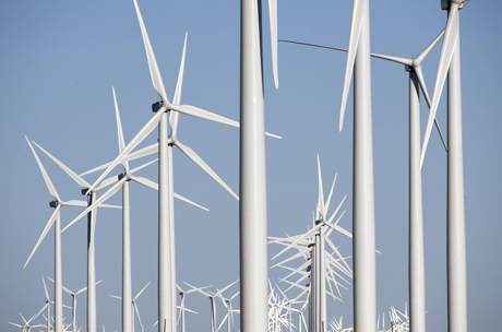 danish wind energy association multple turbines